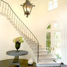 I need a table this size to go by our curved wall around the stairs in entryway.