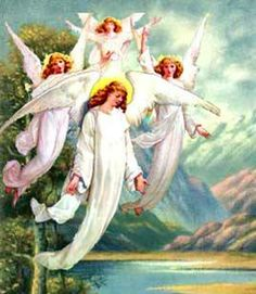 Image detail for -according to the bible angels are spirits just as god himself is a ...