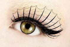 Spiderweb eyelashes