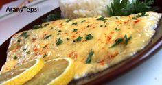 Sajnos nem olyan gyakran fogyasztunk halat, mint ahogy azt kellene. A rántott hal és a paprikás lisztben sült hekk mellett ez egy újdonság v... My Recipes, Recipies, Weekday Meals, Kefir, Risotto, Mashed Potatoes, Food And Drink, Menu, Fish