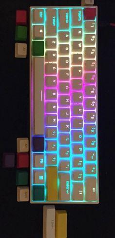Best Gaming Setup, Keyboard, Red, Hipster Stuff