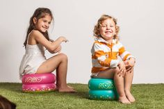 Toddler Toilet Seat Portable Kids Potty Child Inflatable Travel Camping Potties  #Noybo