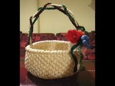 ... alluncinetto on Pinterest Crochet baskets, Gadgets and Crochet