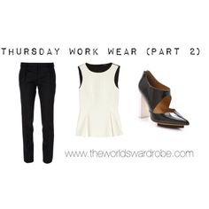 Thursday Work Wear (Part 2) by cookiek on Polyvore