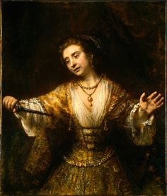 Lucretia / Rembrandt van Rijn - My absolute favorite painting - the use of light and dark, the incredible emotion, this always makes me cry when I see it in person.
