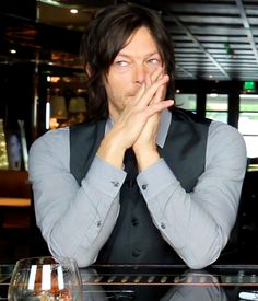 Look at Norman being all cute