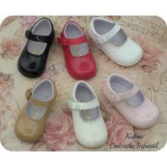 Zapatos niña - Merceditas charol hebilla - Calzado infantil