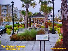 The Marketplace Common is the shining jewel and centerpiece created on the former and historic Myrtle Beach AFB. The Shining, Myrtle, Day Trips, South Carolina, Jewel, Trail, Centerpieces, Sidewalk, Mansions