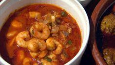 Spanish garlic prawns Prawn Recipes, Tapas Recipes, Fish Recipes, Seafood Recipes, Appetizer Recipes, Cooking Recipes, Spanish Recipes, Buffet Recipes, Catering Recipes
