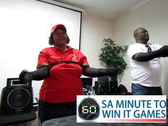 DBSA Minute To Win It Event – SA Minute To Win It Games