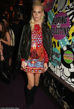 Poppy Delevingne at charity event