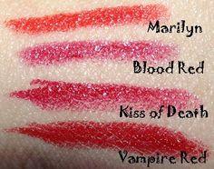 Ravishing Red Swatches