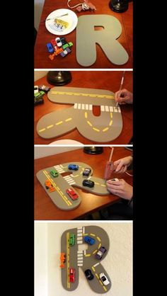 Car craft...want to make this for sam's bedroom door!