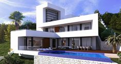 Villa Arina is a designer villa to be built with a concrete structure in a beautiful location in the famous urbanisation of Altea Hills. Altea Hills with 24-hr. security and is located just a few minutes away from the centre of Altea, the marina of Mascarat and the golf course in Sierra de Altea.