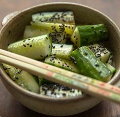 Sesame Cucumbers...