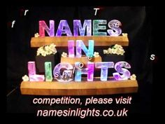 This is the thing to pin to enter our September Draw - See namesinlights.co.uk for full rules.  Good luck x