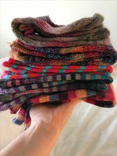 Lots of woolly socks Plaid Scarf, Socks, Sock, Stockings, Ankle Socks, Hosiery