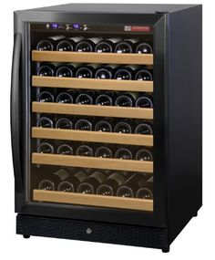 Built-In Wine Cellars - Allavino MWR541BR 51 Bottle Wine Cellar Refrigerator  Black Door -- Check out this great product.