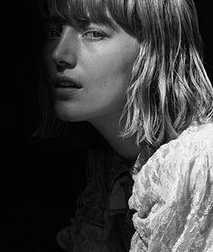 Model: Lou Schoof   Photographer: Simon Burstall
