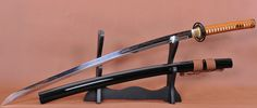 Clay Tempered Foldedsteel Unokubi Zukuri Blade Japanese Samurai Sword.