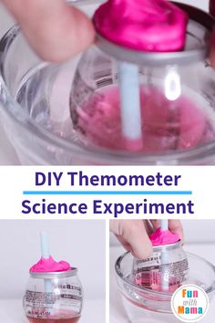 Homemade Thermometer Science Experiment