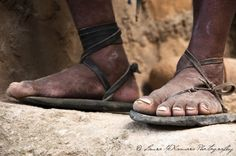The Rarámuri (Tarahumara) people live and run in huaraches, sandals made from tire and leather.