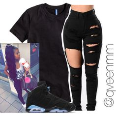Untitled #545 by qveenmm on Polyvore featuring H&M and NIKE
