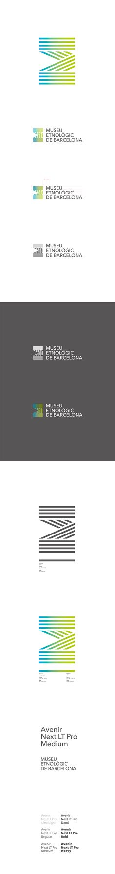 Museu Etnològic de Barcelona on Behance #Identity