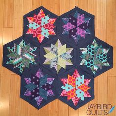 Jaybird Quilts: More fun with my #NightSkyQuilt = More color options + Prints!