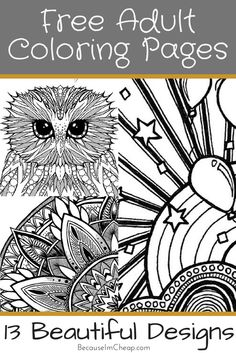 Free Adult Coloring Pages Davlin Publishing Adultcoloring