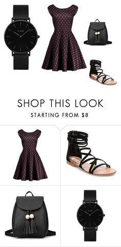"""""""dots"""" by amela-t ❤ liked on Polyvore featuring Steve Madden and CLUSE"""