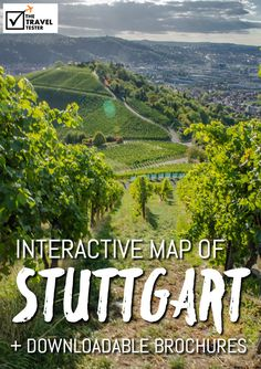 Map of Stuttgart Germany: City Plan and Brochures to Download - The Travel Tester