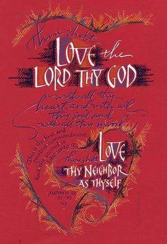 Love thy God