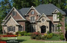 Garrell Associates, Inc.Domaine Le Grande House Plan 01299,Normandy Style House Plans, Traditional Style House Plans, Design by Michael W. Garrell