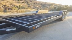 Tiny Trailers, Tiny House Trailer, Tiny House On Wheels, Homemade Trailer, Tyni House, Classic House Exterior, Off Road Camper Trailer, Gooseneck Trailer, Trailer Plans