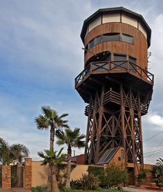 California water tower Is actually 3-story House (1 Anderson Street, Seal Beach, California)