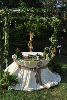 Bucolic gazebo Wedding Cake Blog Sara Events   Wedding Planner Sardegna