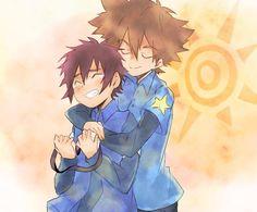 Taichi y Daisuke