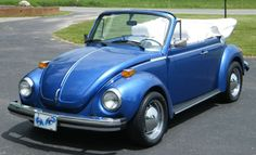 I loved my Bahama Blue VW Convertible!!