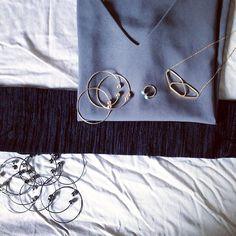 Gold & Gray⚪ #new #jewelry #ring #bijoux #handmade #wear #havefun #instaphoto #photooftheday #instahappy #goodvibes #style #styleblogger #fashion #americagirl #worldgirl #life #love #smile #day #photo #happy
