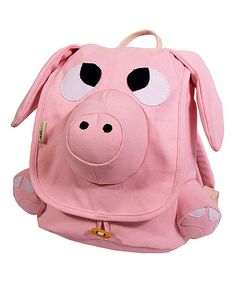 This Pig Ecozoo Backpack by Ecogear is perfect! #zulilyfinds