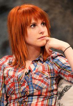 hayley williams - love her voice, love her hair #paramore  #rockmusic Via Veronika SinclairWants