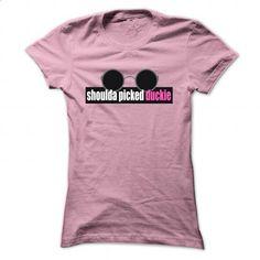 Pretty In Pink- Shoulda Picked Duckie - #handmade gift #love gift. ORDER HERE => https://www.sunfrog.com/Movies/Pretty-In-Pink-Shoulda-Picked-Duckie-147900530-Guys.html?60505