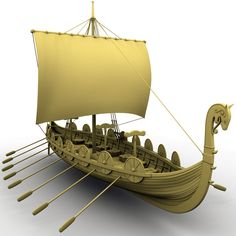 This is the kind of ship that Vikings would have sailed in when they first settled in Newfoundland, which they originally named L'anse aux Meadows. Viking Dragon, Viking Ship, Viking Art, Viking Runes, Real Vikings, Norse Vikings, Ragnar Lothbrok, Loki Thor, L'anse Aux Meadows