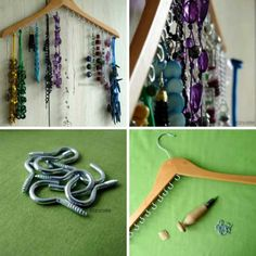 34 Insanely Cool and Easy DIY Project Tutorials DIY jewelry hanger