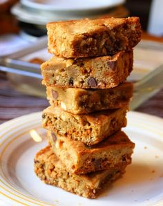 Food Wishes Video Recipes: These Butterscotch Cashew Blondies are No Joke