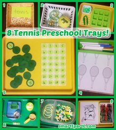 Outfit your sports preschool theme or have a fun week of tennis preschool! Here we have some simple ideas for learning with this fun sport. Tennis Bag, Play Tennis, Tennis Rules, Fuzzy Felt, Preschool Themes, Montessori Preschool, Tennis Equipment, Tennis Workout, Fair Games