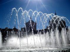 """""""Pucela, sol y agua"""" Tomada en Valladolid. http://www.sirenasinmar.blogspot.com"""