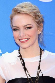 Five Tricks for Applying Eyeliner: Emma Stone