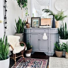 Love the plants and the tassel on the furniture